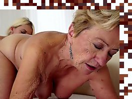 old granny pussy licking